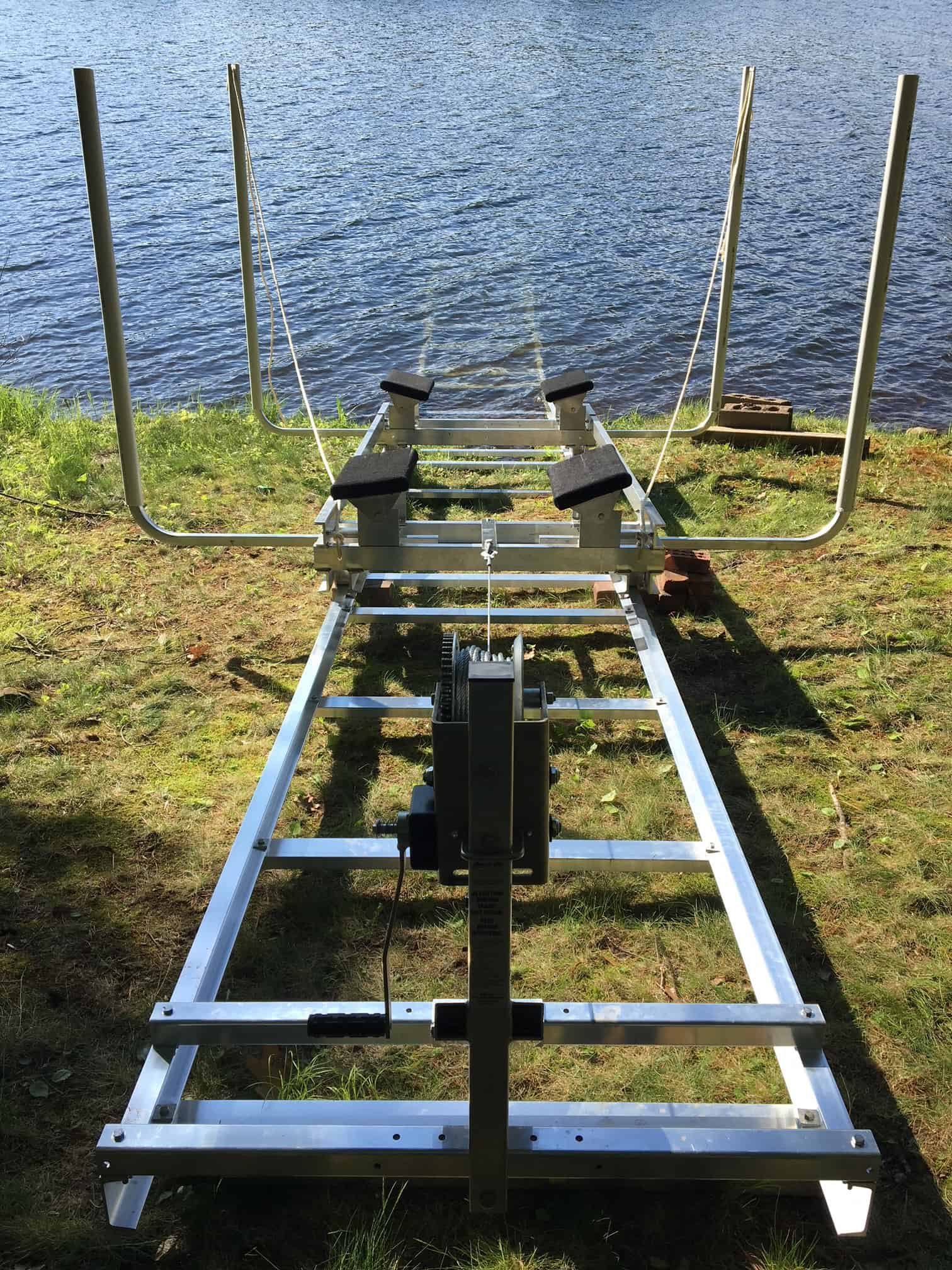 Large Boat Rail Docking System Rail System For Fishing